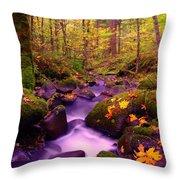 Vivid Green Throw Pillow