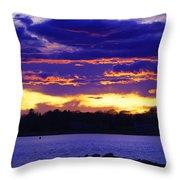 Vivid Skies Throw Pillow