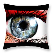Vivid Vision  Throw Pillow