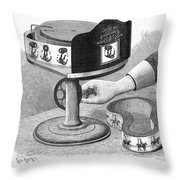 Viviscope, 1896 Throw Pillow