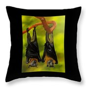 Vlad And Betty Throw Pillow