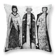 Vladimir I (956?-1015) Throw Pillow