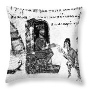 Vladimir I Envoys Throw Pillow
