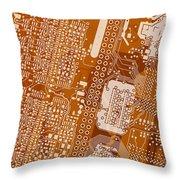 Vo96 Circuit 2 Throw Pillow