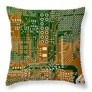 Vo96 Circuit 3 Throw Pillow