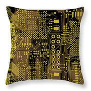 Vo96 Circuit 5 Throw Pillow