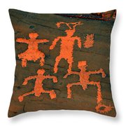 Vof Dance Scene Throw Pillow