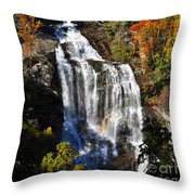Voice Of Many Waters Throw Pillow