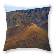 Volcanic Cone Throw Pillow