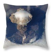 Volcanic Eruption Eruption Volcano Volcanism Throw Pillow