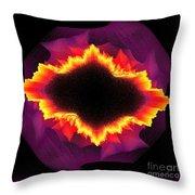 Volcanic Explosion Throw Pillow