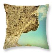 Volcanic Paradise Throw Pillow