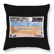 Volcanica Throw Pillow