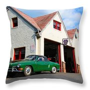 Volkswagen Karmann Ghia 1970 Throw Pillow
