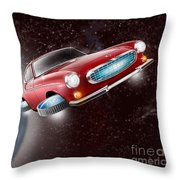Volvo P1800 Goes Back To The Future Throw Pillow
