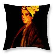 Voodoo Queen - Marie Laveau Throw Pillow