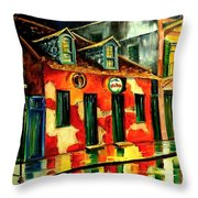Voodoo Shop Throw Pillow