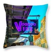 Voodoo Vibe Throw Pillow