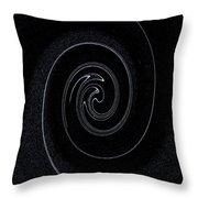 Vortex Art Throw Pillow