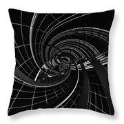 Vortex 5 Throw Pillow