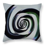 Vortextual Throw Pillow