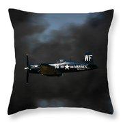 Vought F4u Corsair Throw Pillow