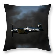 Vought F4u Corsair Throw Pillow