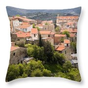 Vouni Village Throw Pillow