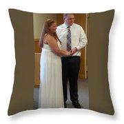 Vows Throw Pillow