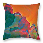 Voyeur One Throw Pillow