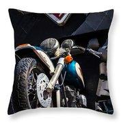 Vroom Vroom Throw Pillow