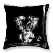 Vroomvroom Throw Pillow