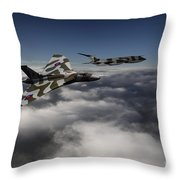 Vulcan And Victor  Throw Pillow