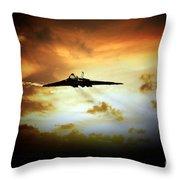 Vulcan Fire  Throw Pillow