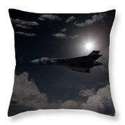 Vulcan Moon  Throw Pillow
