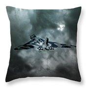 Vulcan Storm Throw Pillow