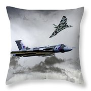 Vulcan Wingman Throw Pillow