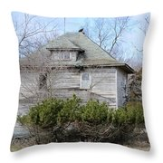 Vulture Home Throw Pillow