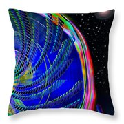 Fun On Planet X Throw Pillow