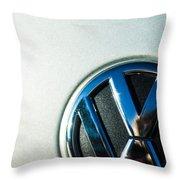 Vw Logo Throw Pillow
