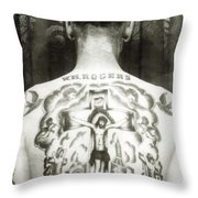 W H Rogers Clarksville Tennessee Throw Pillow