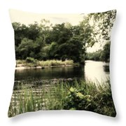 Waccamaw River Throw Pillow