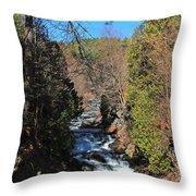 Wachusett Reservoir Spillway 2 Throw Pillow