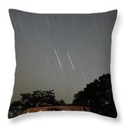 Wagon And Stars 2am 115864and115870 Stacked Image Throw Pillow