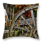 Wagon Down Throw Pillow