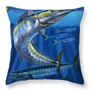 Wahoo Rip Off0047 Throw Pillow