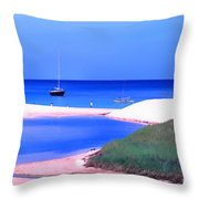 Waimea Bay Throw Pillow