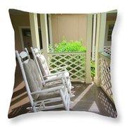 Waimea Porch Throw Pillow