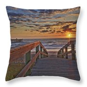 Wait At Our Spot Throw Pillow