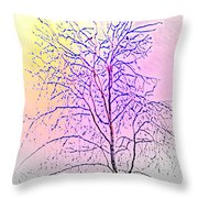 Wait For Next Summer And A New Chance To Live  Throw Pillow